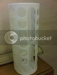 Ikea Plastic Bag Holder $10 Photo by estyssej | Photobucket
