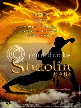 Shaolin, Jackie Chan, Nicholas Tse, Andy Lau