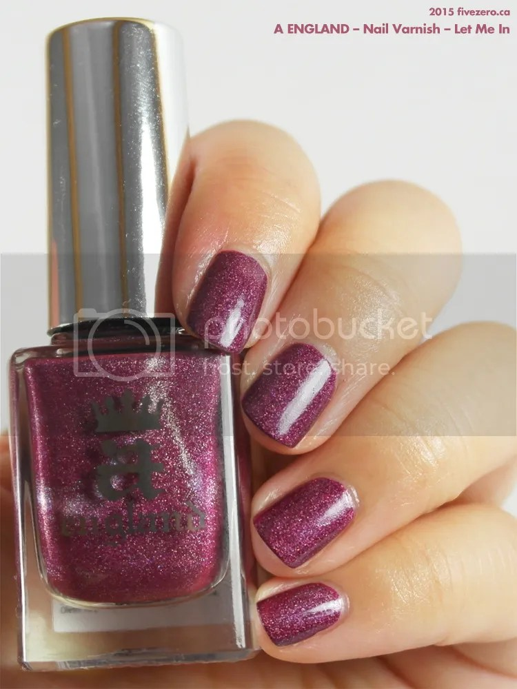 A England Nail Varnish in Let Me In, swatch