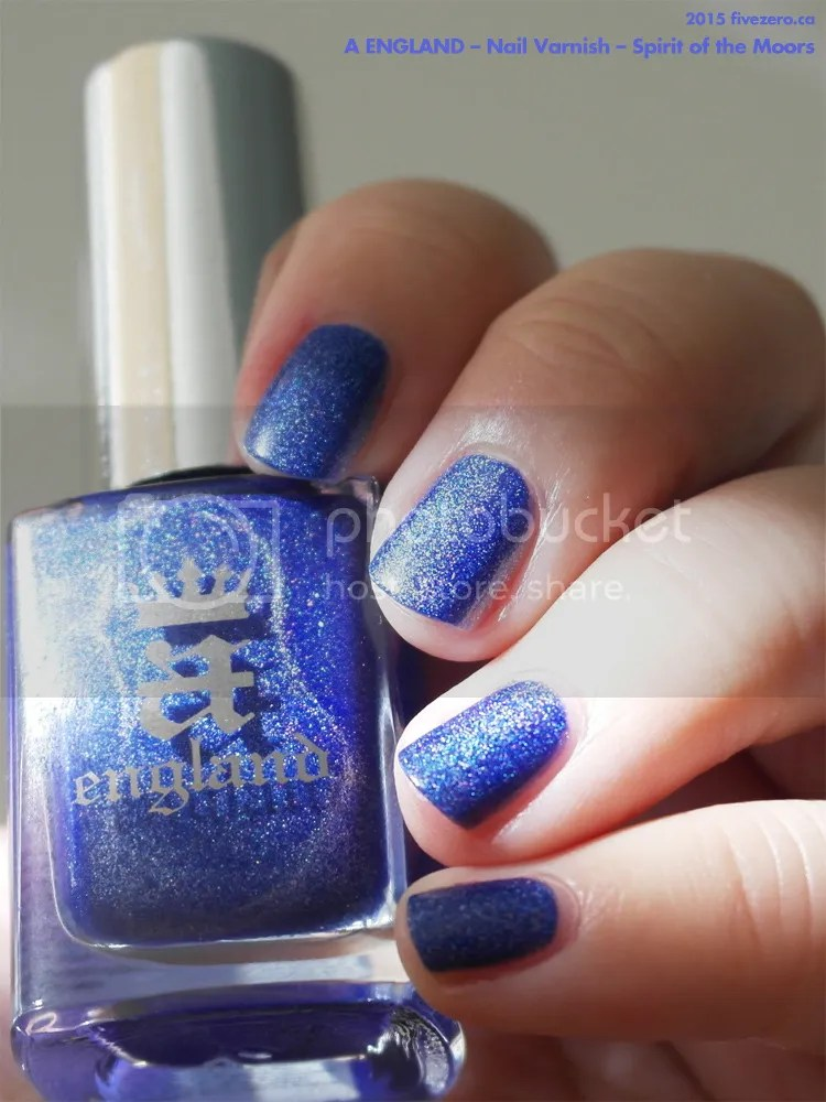 A England Nail Varnish in Spirit of the Moors, swatch