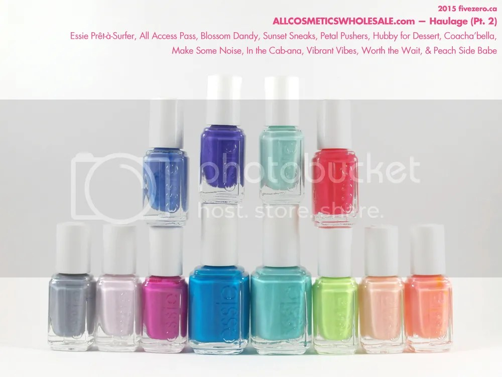 All Cosmetics Wholesale ACW Haulage Essie nail polish