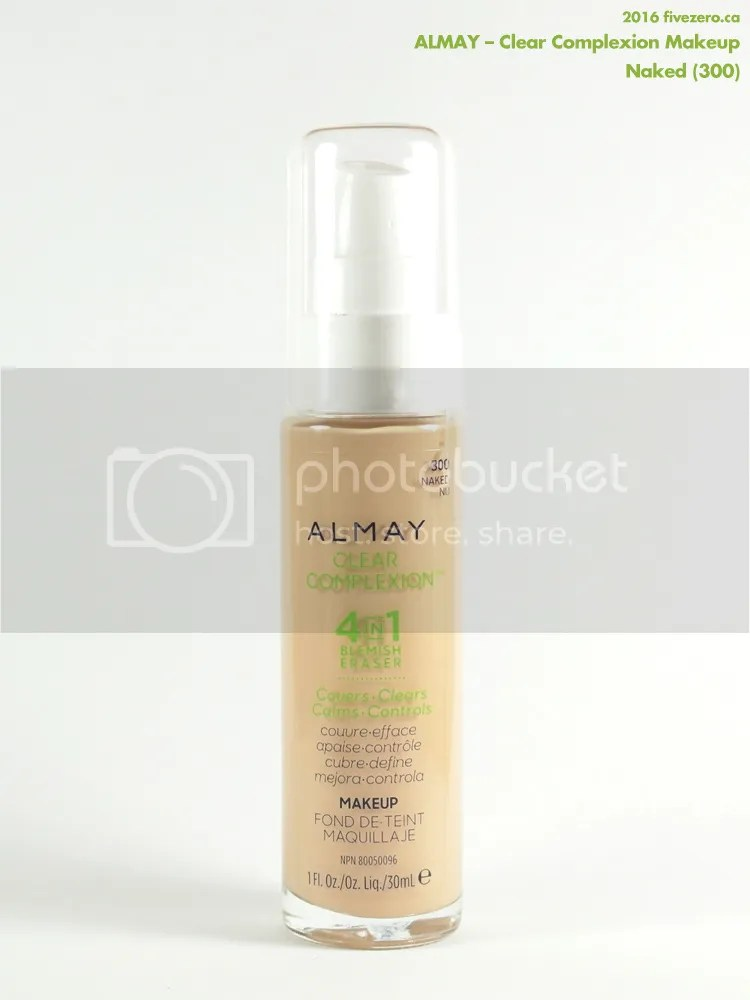 Almay Clear Complexion Makeup in Naked 300