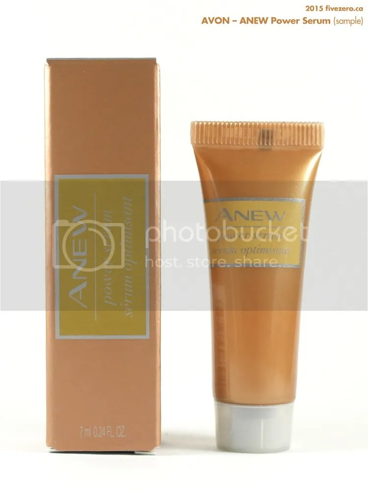 Avon ANEW Power Serum sample