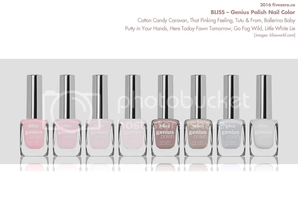 New Release: Bliss — Genius Polish Nail Color (Spring 2016) [Launch ...