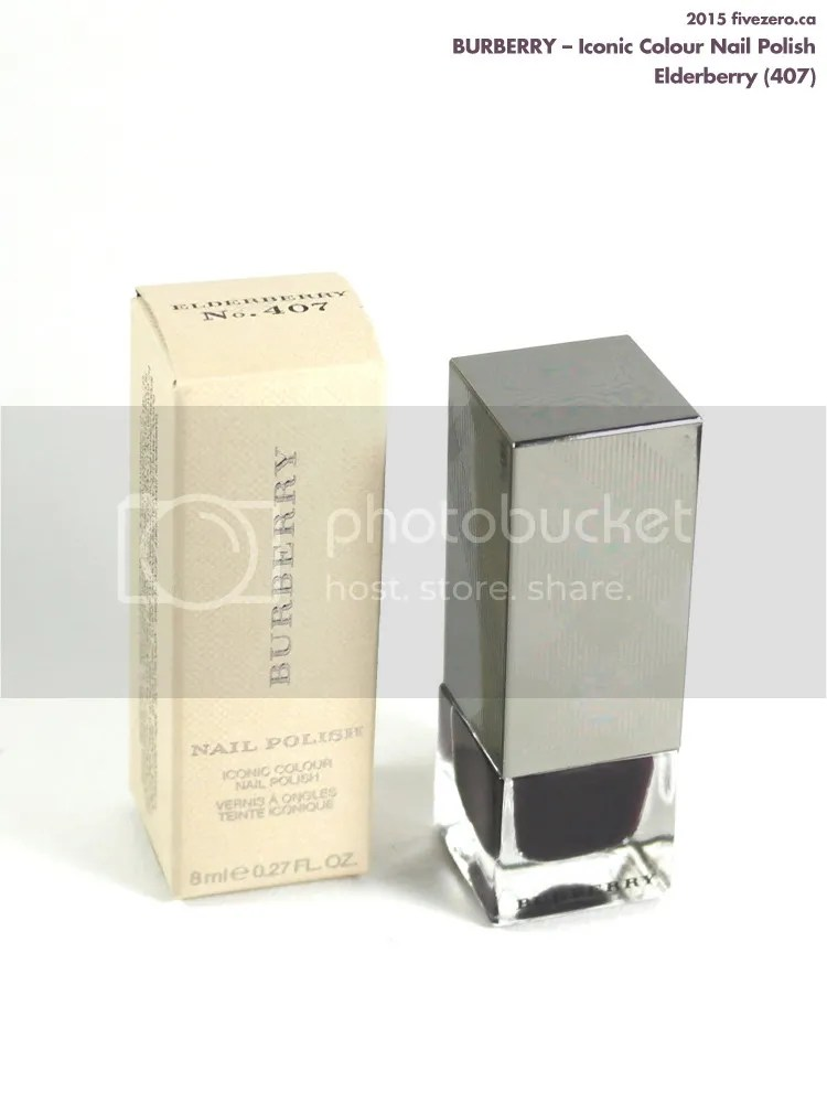 Burberry Iconic Colour Nail Polish in Elderberry