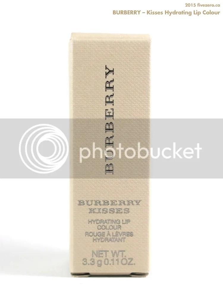 Burberry Kisses Hydrating Lip Colour in khaki box