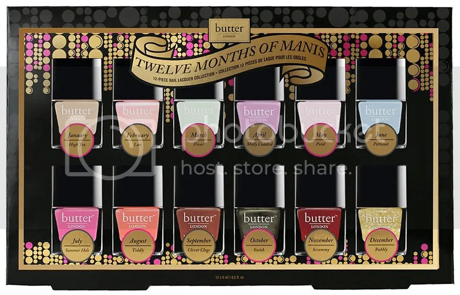 butter LONDON Invite Only 12 Months of Manis Set 2015