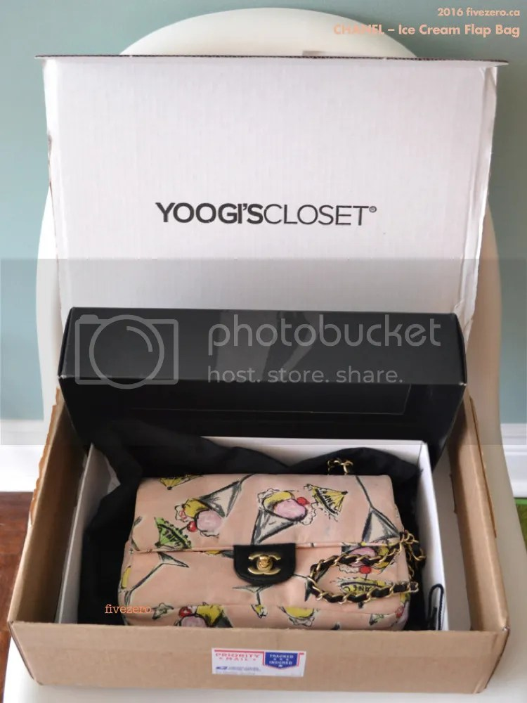 Yoogi's Closet, Chanel ice cream flap bag