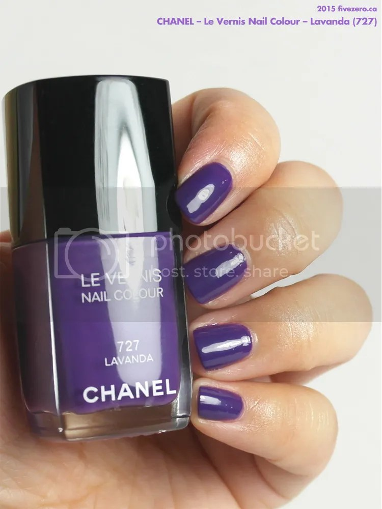 Chanel Le Vernis Nail Colour in Lavanda, swatch