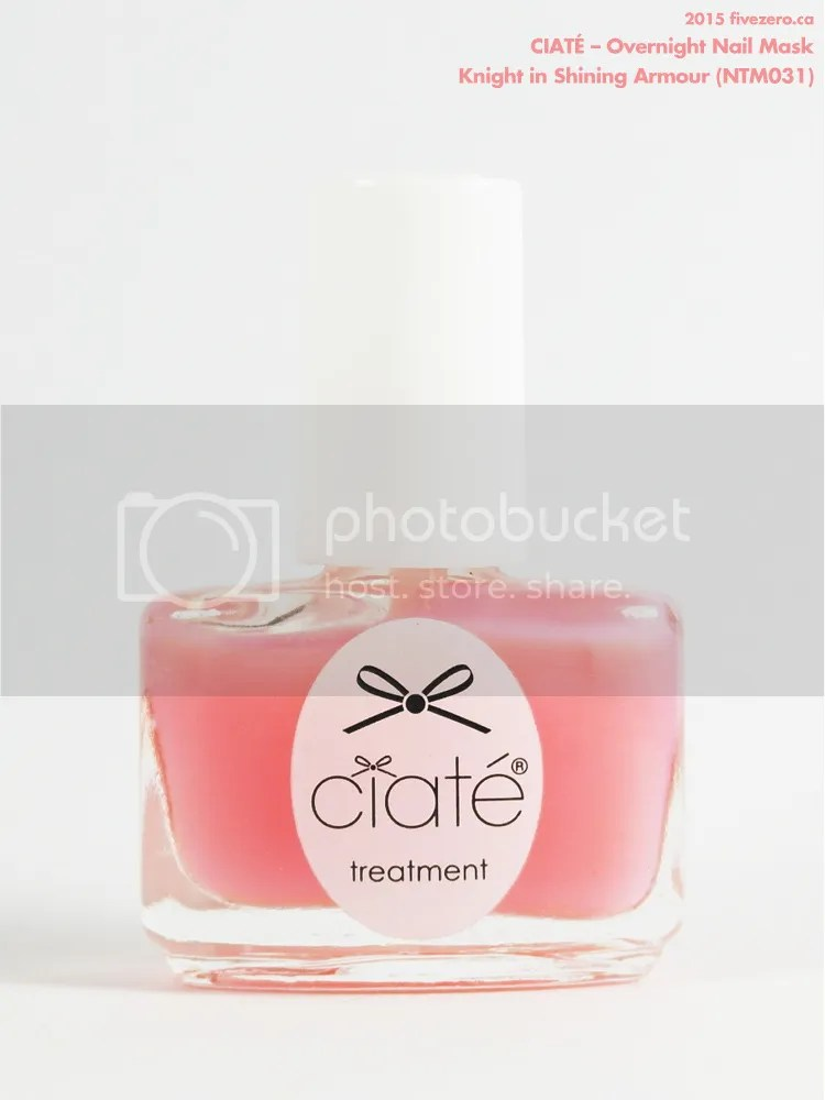 Ciaté Overnight Nail Mask in Knight in Shining Armour