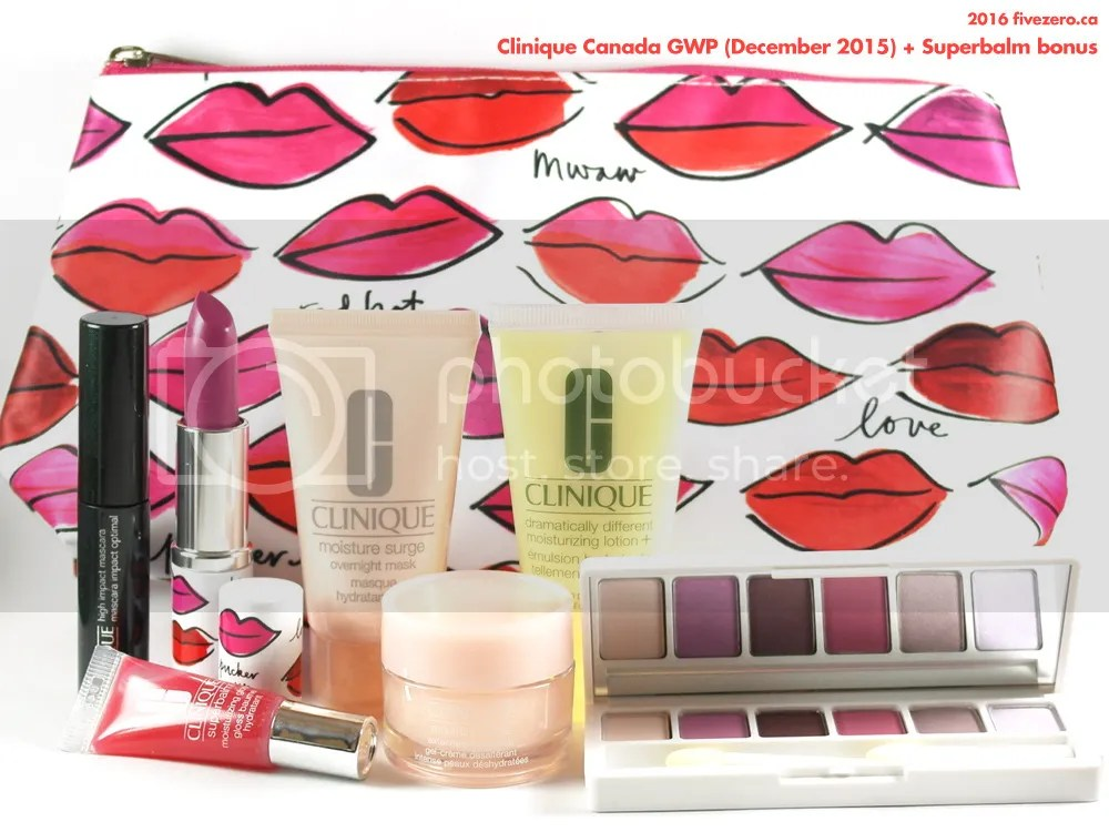 Clinique Canada GWP December 2015