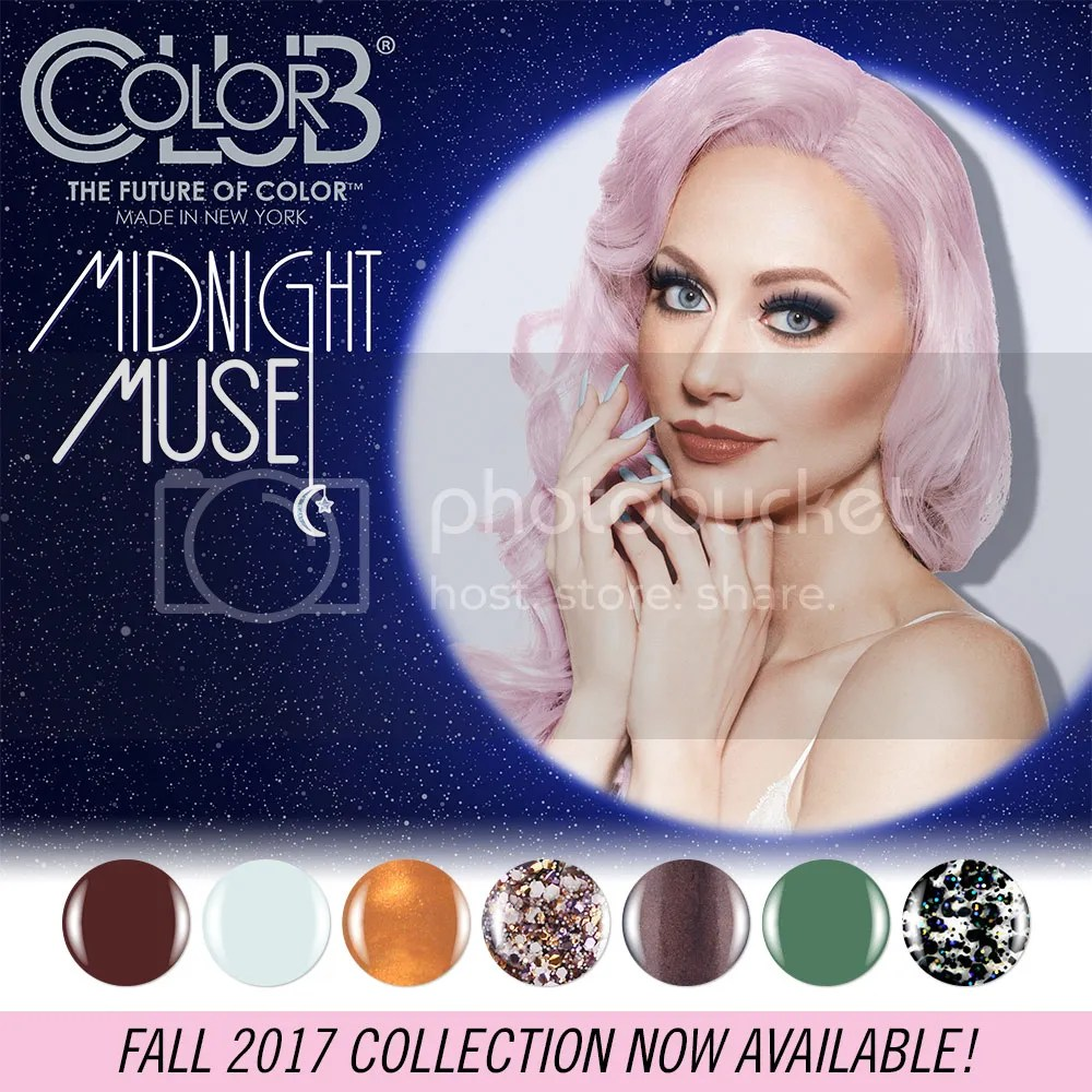 Color Club Midnight Muse Fall 2016 Collection