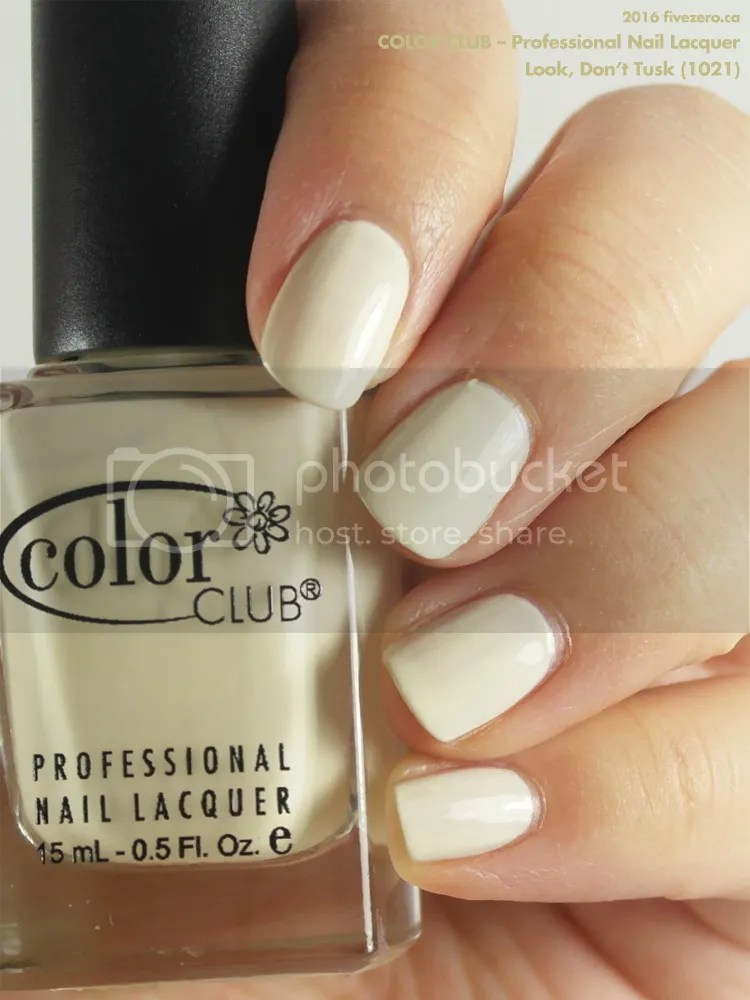 Color Club Professional Nail Lacquer in Look, Don't Tusk, swatch
