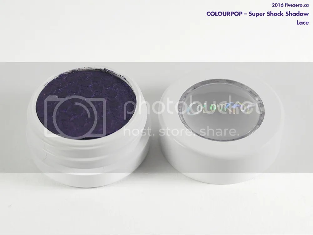 ColourPop Super Shock Shadow in Lace