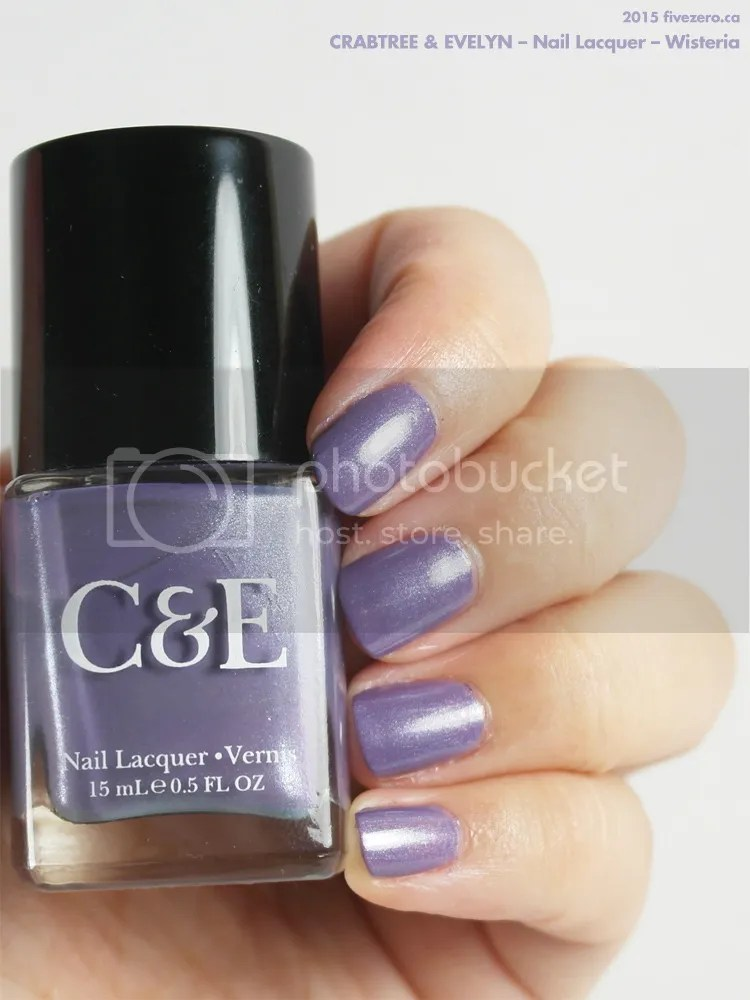 Crabtree & Evelyn — Wisteria (Nail Lacquer) Swatch & Review – fivezero