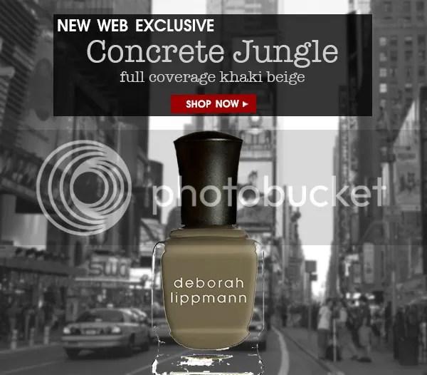 Deborah Lippmann Nail Lacquer in Concrete Jungle