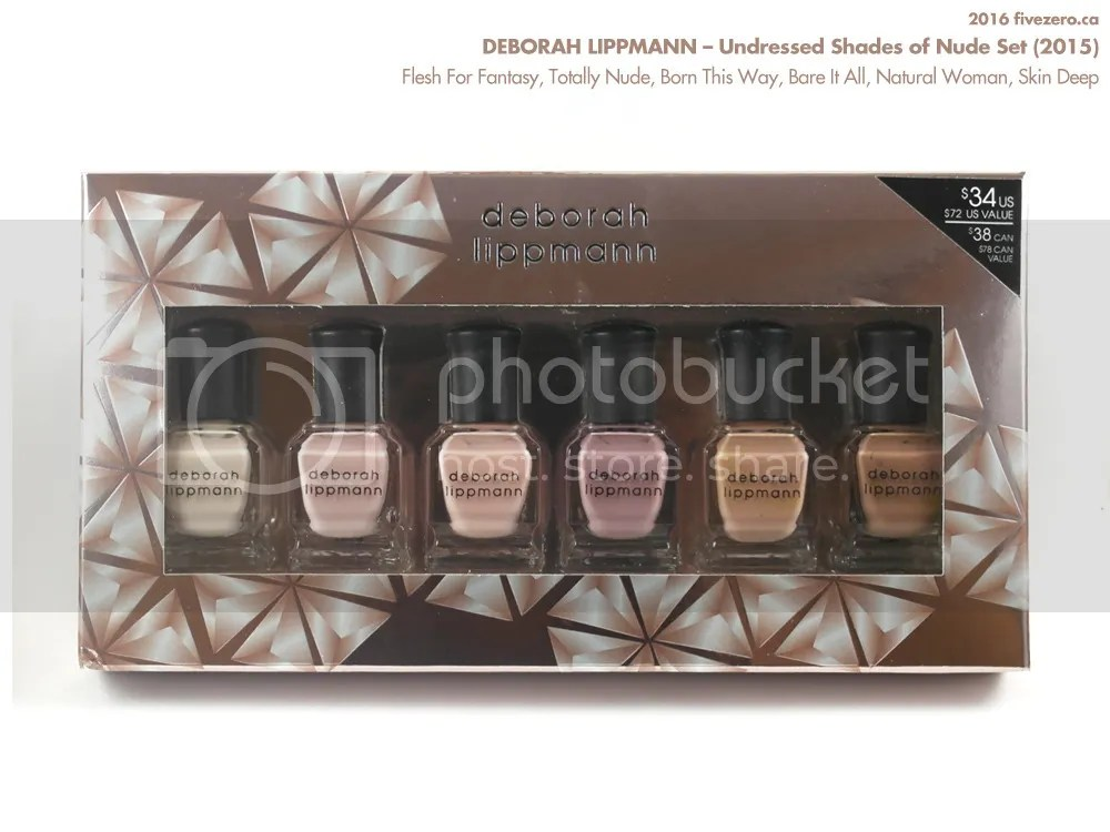 Deborah Lippmann, Undressed Shades of Nude Set 2015