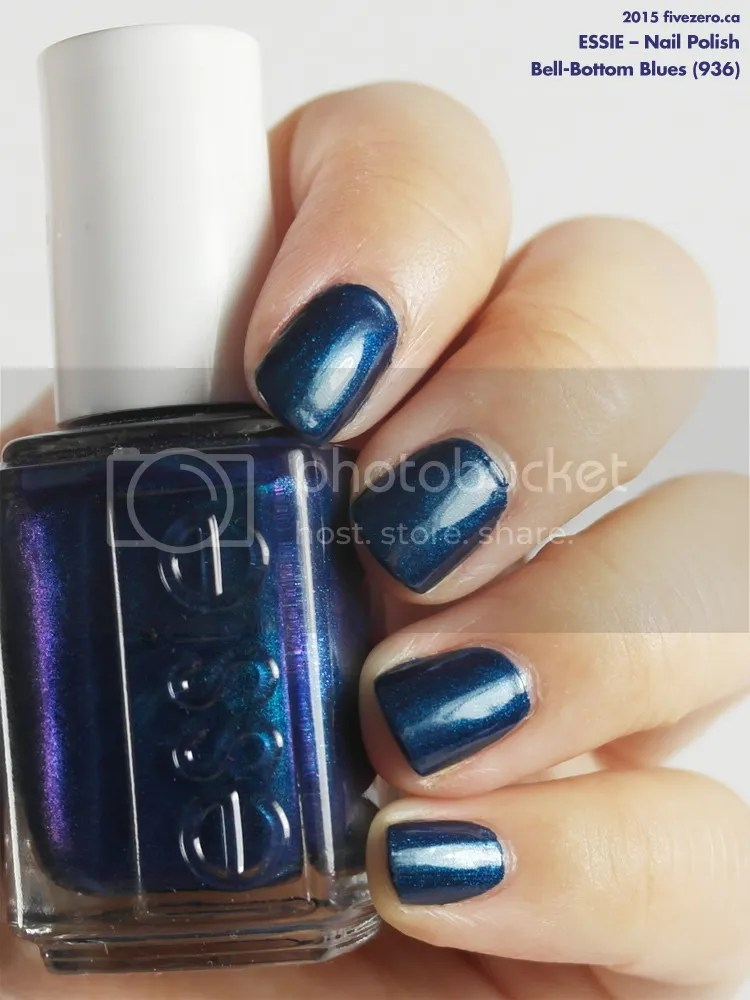 Essie Nail Polish in Bell-Bottom Blues, swatch
