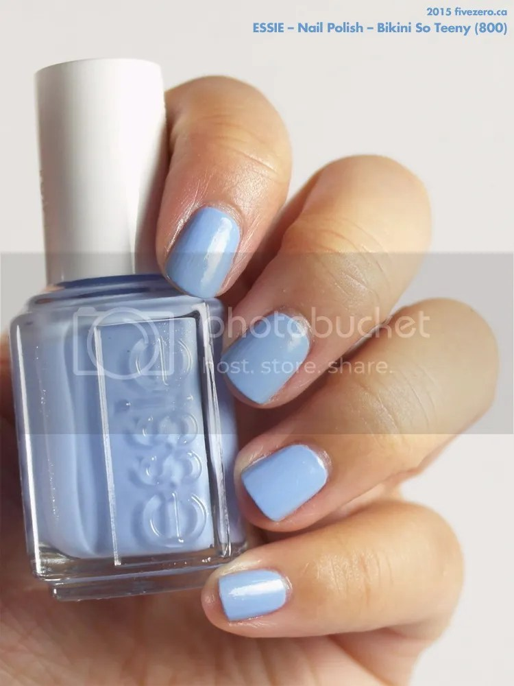 Essie Nail Polish in Bikini So Teeny, swatch