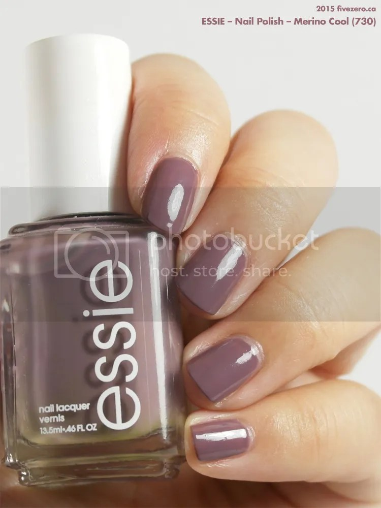 Essie Merino Cool Nail Polish Swatch Review Fivezero