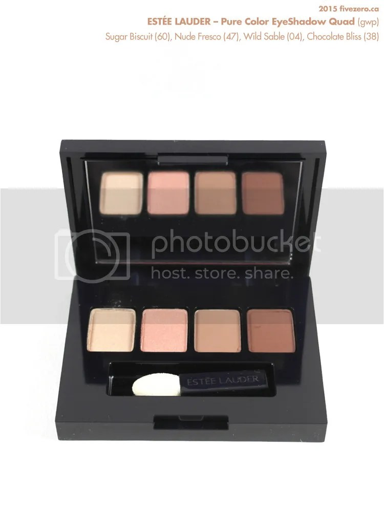 Estée Lauder Pure Color EyeShadow Quad GWP