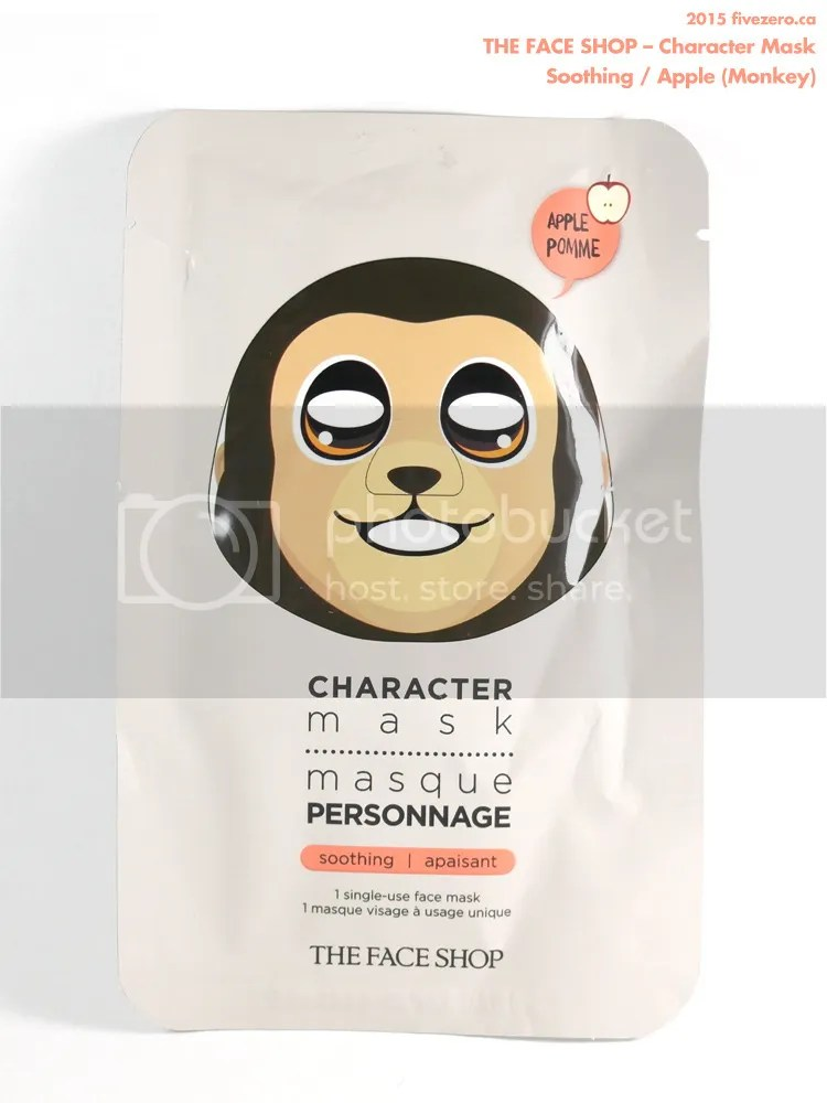 The Face Shop Character Mask in Soothing / Apple (Monkey)