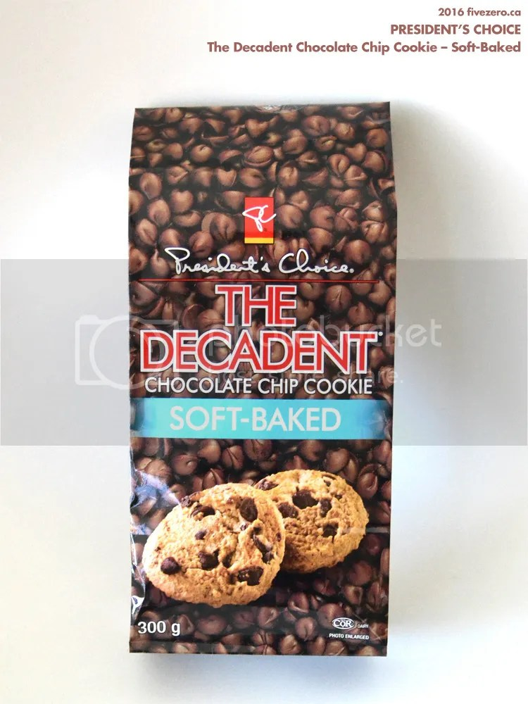 President's Choice PC The Decadent Chocolate Chip Cookies in Soft Baked