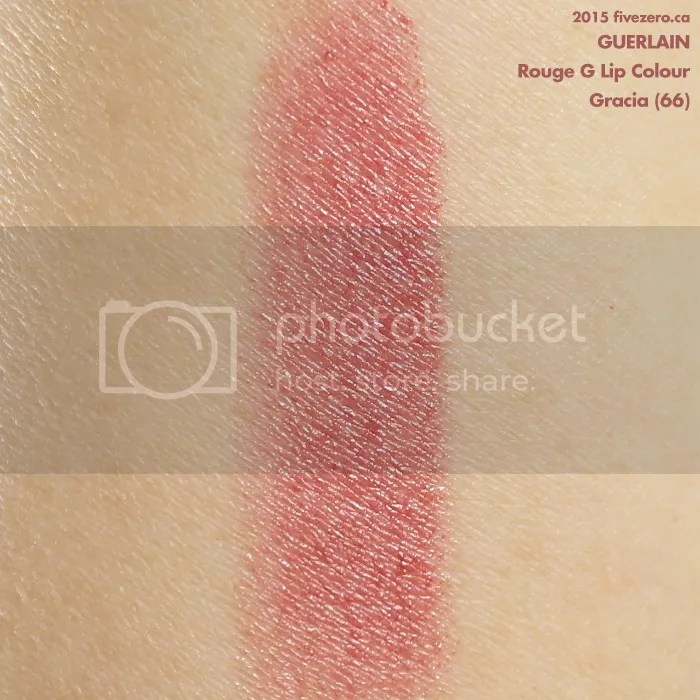 Guerlain Rouge G Lip Colour in Gracia, swatch