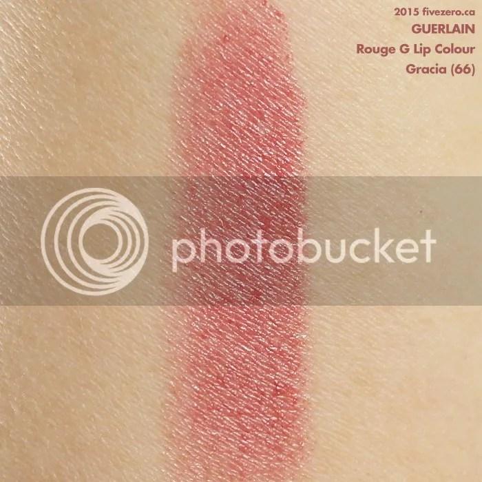 Guerlain Rouge G Lip Colour in Gracia, swatch