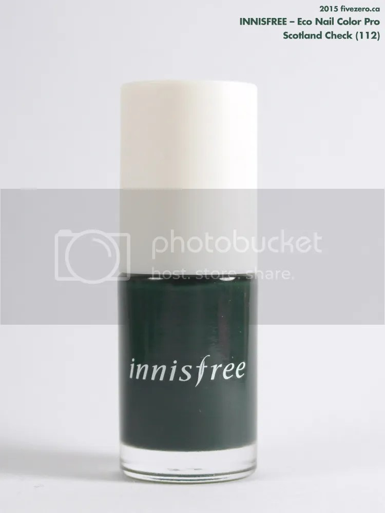 Innisfree Eco Nail Color Pro in Scotland Check