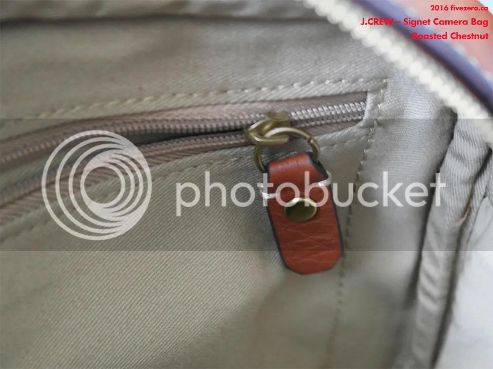J.Crew Signet Bag in Roasted Chestnut