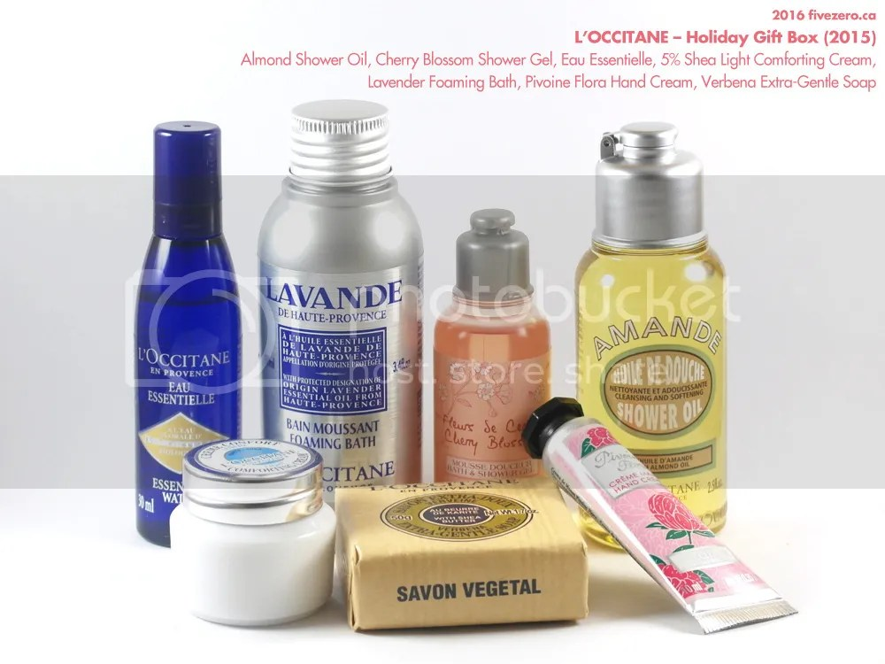 L'Occitane, Holiday Gift Box 2015