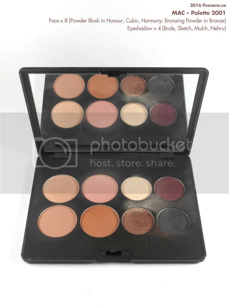 MAC 2001 Palette with Blush, Bronzing Powder, Eyeshadow