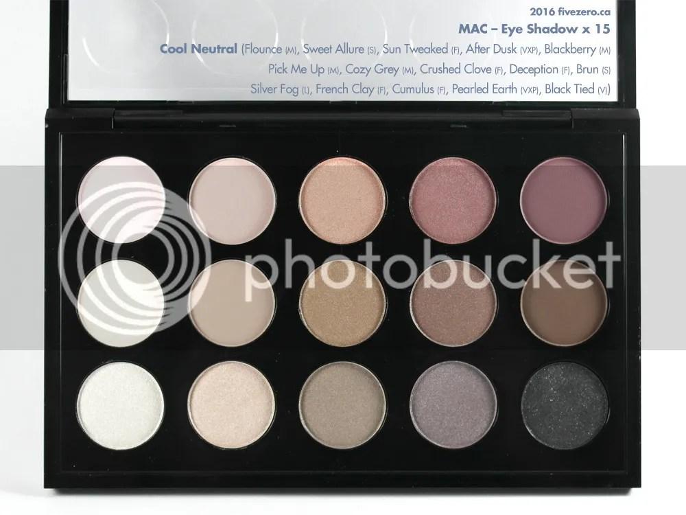 MAC, Eye Shadow x 15 in Cool Neutral