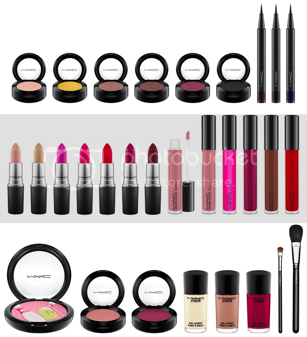 MAC, It's a Strike, Fall 2016 collection
