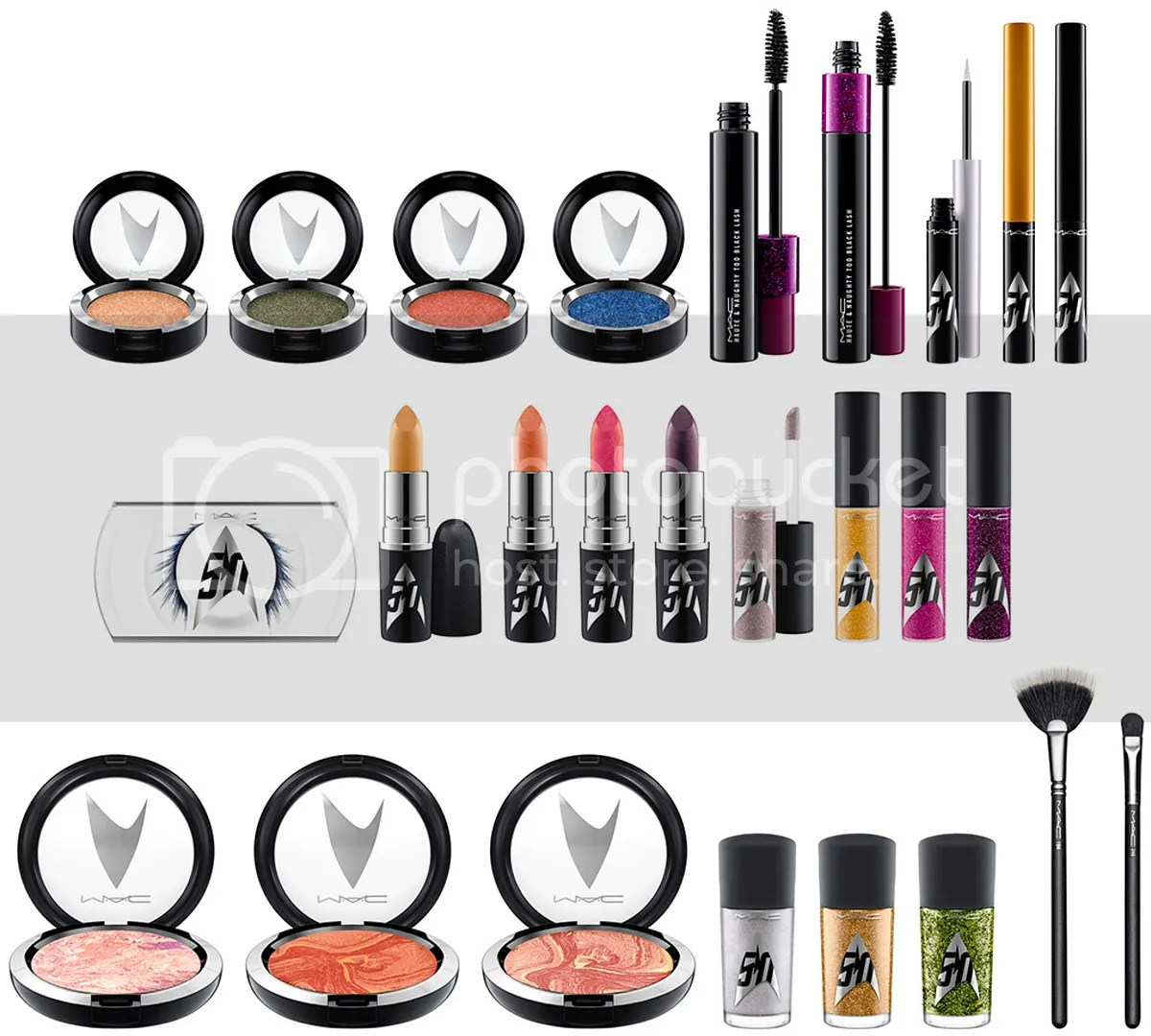 MAC, Star Trek, Fall 2016 collection