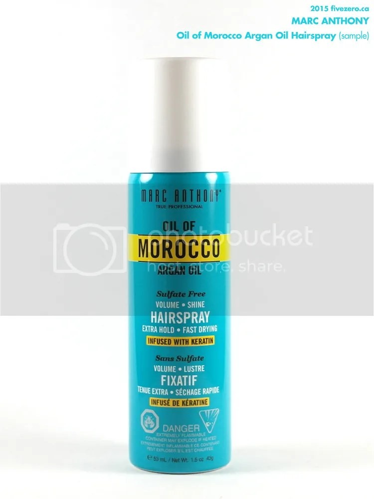 Marc Anthony Oil of Morocco Argan Oil Hairspray (sample)