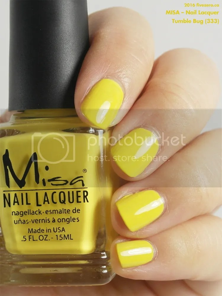 Misa Nail Lacquer in Tumble Bug, swatch