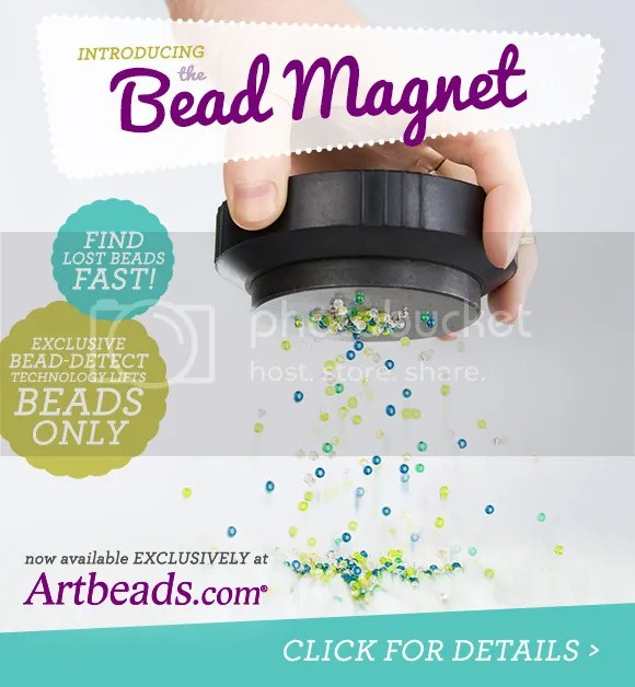 Art Beads April Fool's 2016 Bead Magnet