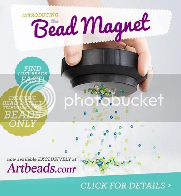 Art Beads April Fool's 2016 Bead Magnet