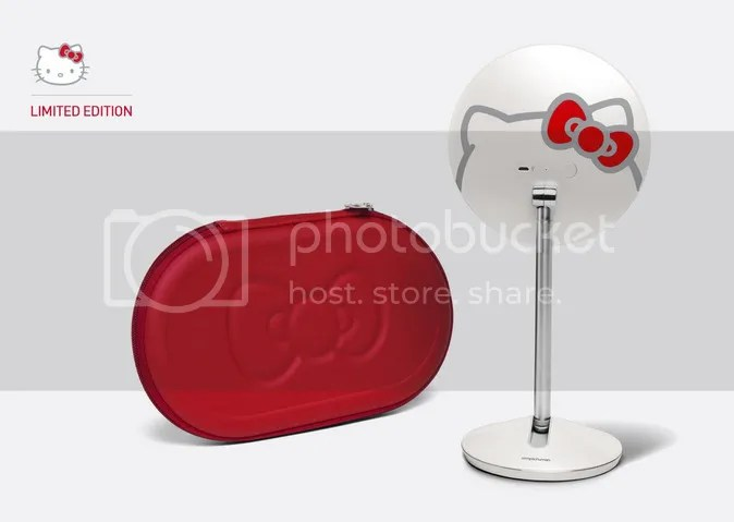 simplehuman Hello Kitty Sensor Vanity Mirror limited edition 5-inch with case