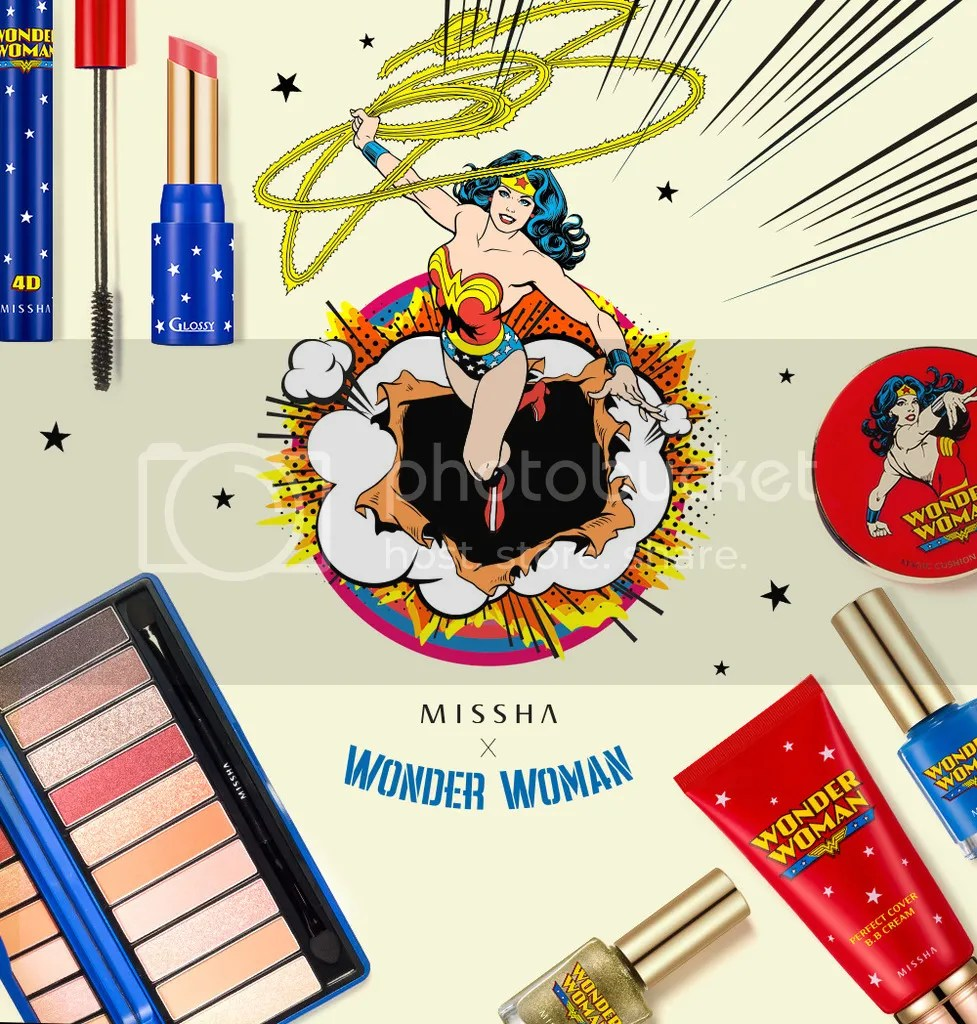 Missha Wonder Woman collection 2015
