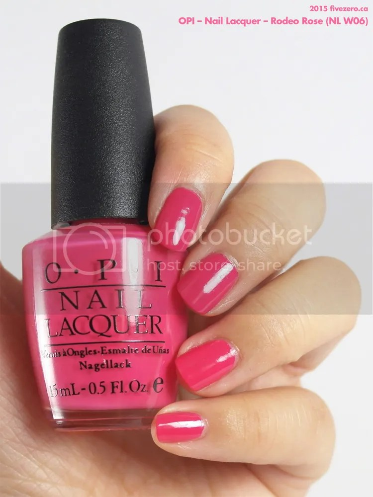 OPI Nail Lacquer in Rodeo Rose, swatch