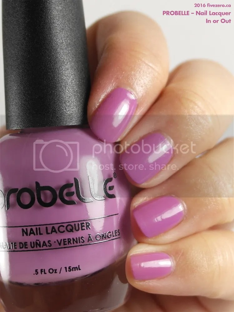 Probelle Nail Lacquer in In or Out, swatch