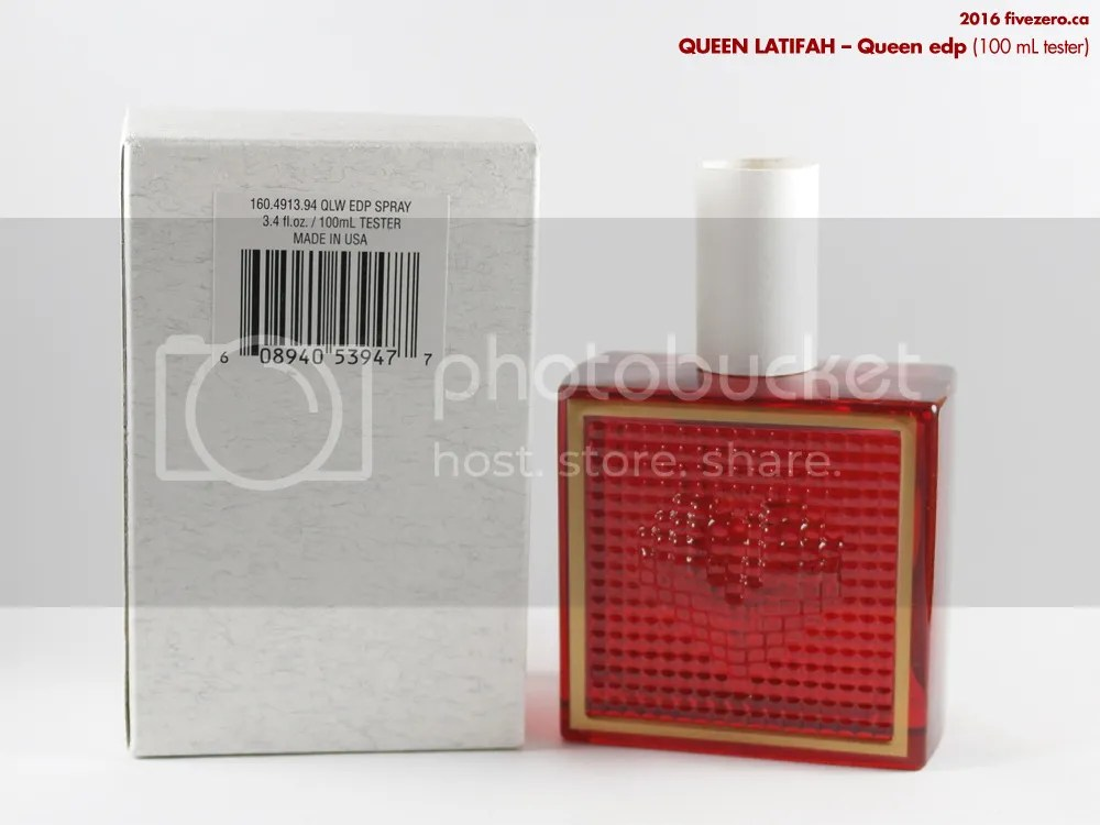 Queen Latifah Queen edp, tester 100 mL