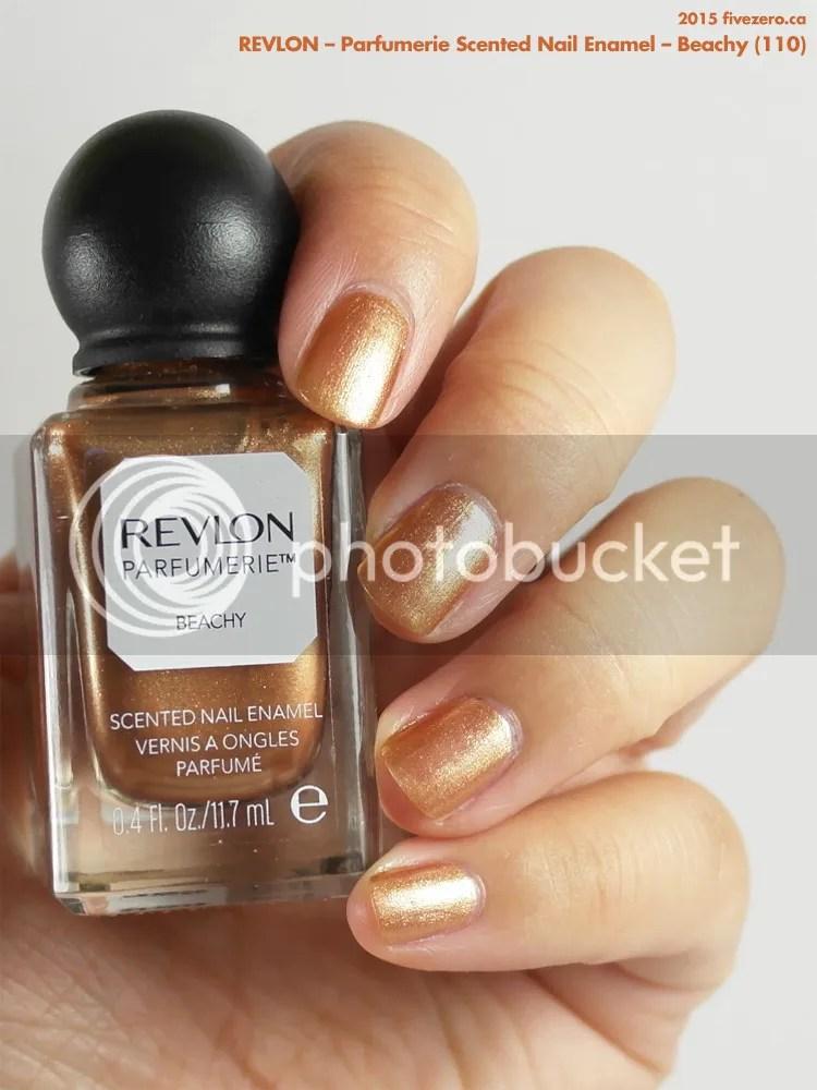 Revlon Parfumerie Scented Nail Enamel in Beachy, swatch