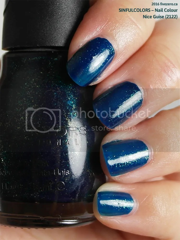 SinfulColors Nail Colour in Nice Guise (Halloween 2016), swatch