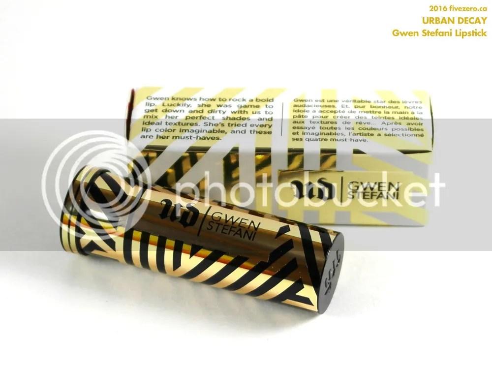 Urban Decay × Gwen Stefani Lipstick in Rock Steady