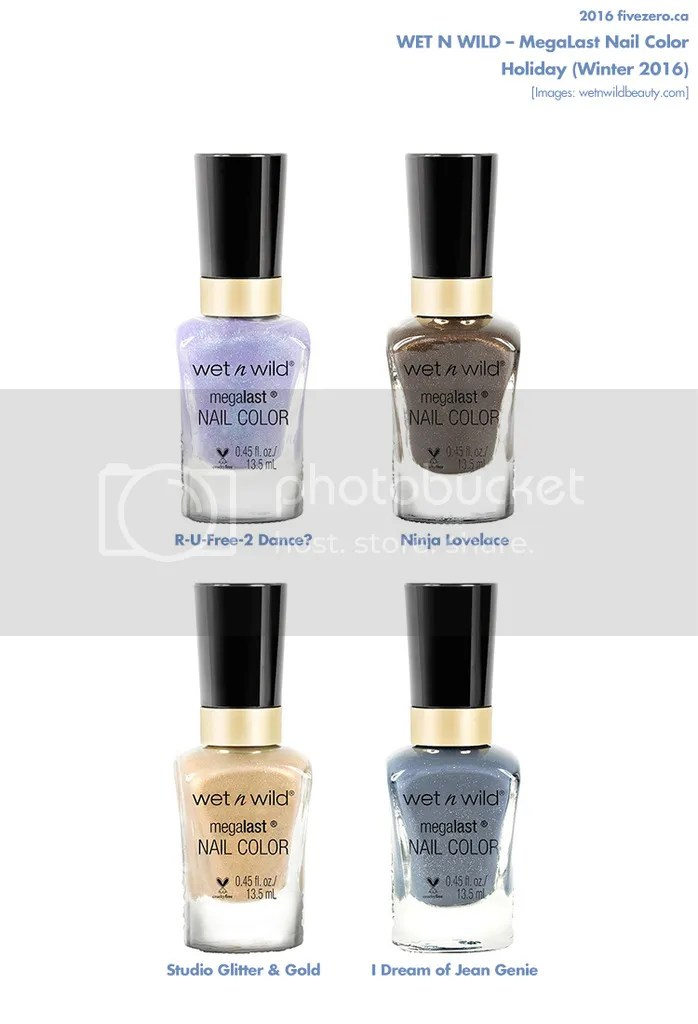 Wet n Wild Summer 2016 Holiday collection, MegaLast Nail Color