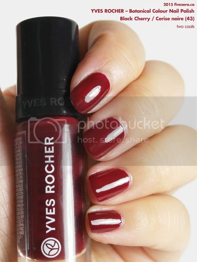 Yves Rocher — Black Cherry / Cerise noire (Botanical Colour Nail ...